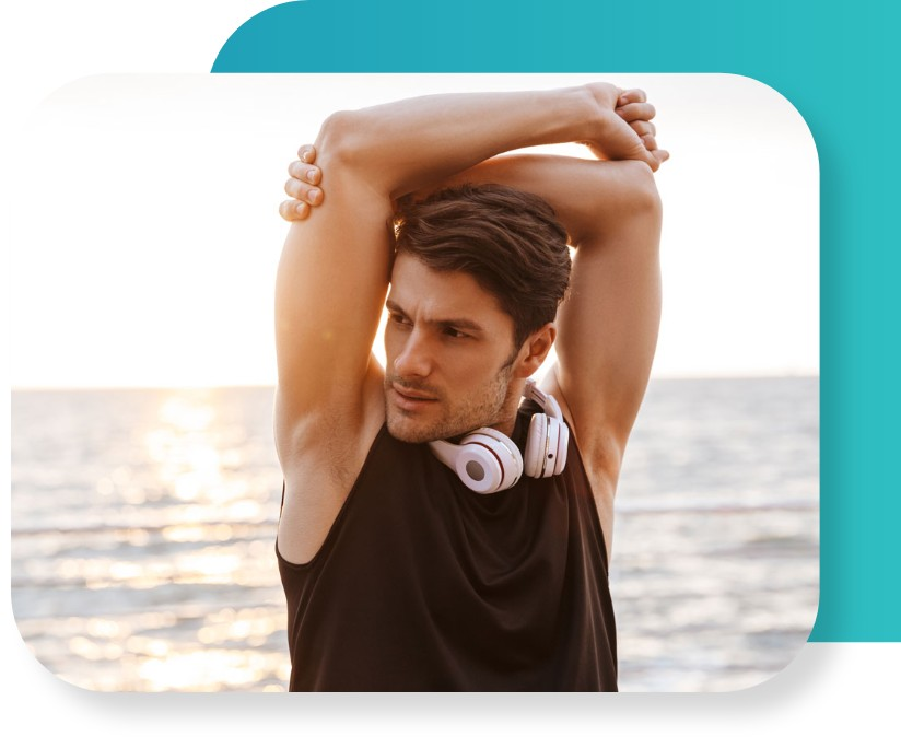 man-with-arms-up-stretching